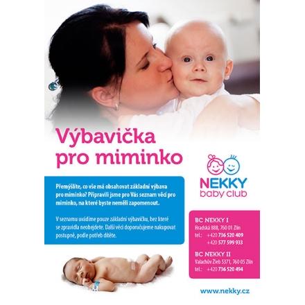 Brožurka - výbavička pro miminko