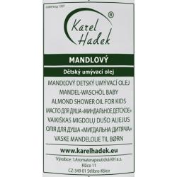 MANDLOVÝ dětský umývací olej 100 ml Karel Hadek